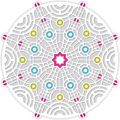 Lasercut Karte: Tekto Merika